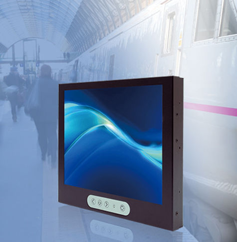 "Rail contract is supplied with ""Litemax 1068E 10.4"" TFT LCD Displays"