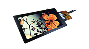 "A Compact High Performance Solution: The 5.5"" MIPI TFT Display Kit Solution with Multi-touch"
