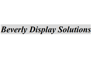 Beverly Display Solutions
