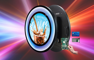 "Keeping it round with the 23.6"" TFT-LCD Circle Display from Litemax"