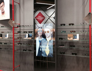 Kite Opticians Touch Screen In Store 1