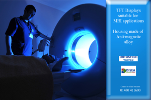 TFT Displays suitable for MRI applications