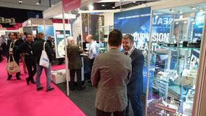 Display Technology showcased the Keewin Stand at the Engineering Design Show